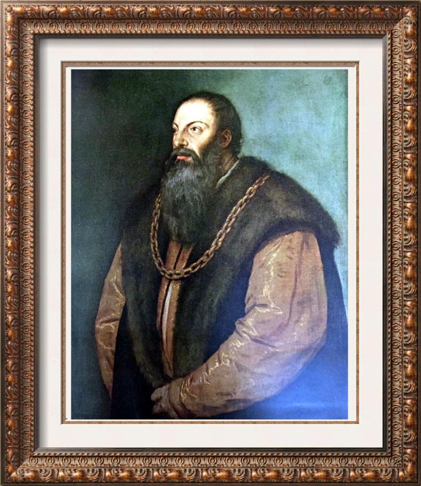 Tiziano Vecellio Titian Portrait of Pietro Aretino