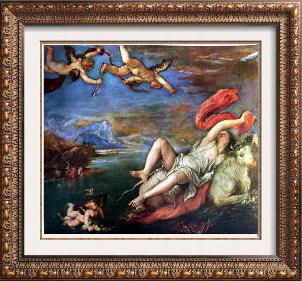 Tiziano Vecellio Titian The Rape of Europa c.1559 Fine
