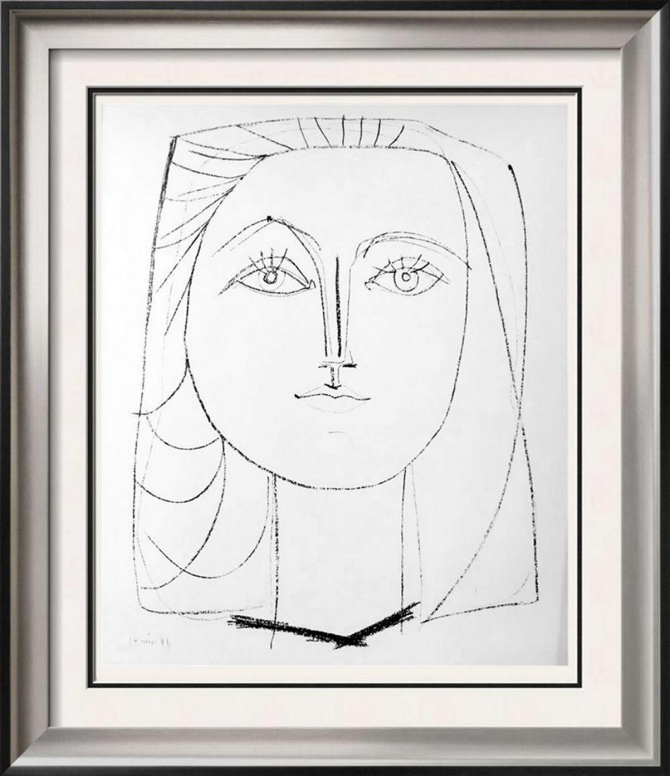 Pablo Picasso 'After'  Francoise c. 1946 Fine Art Print