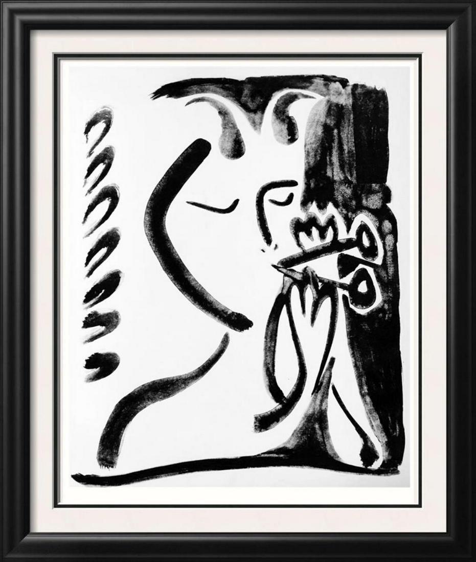 Pablo Picasso Musical Faun III c. 1948 Fine Art Print