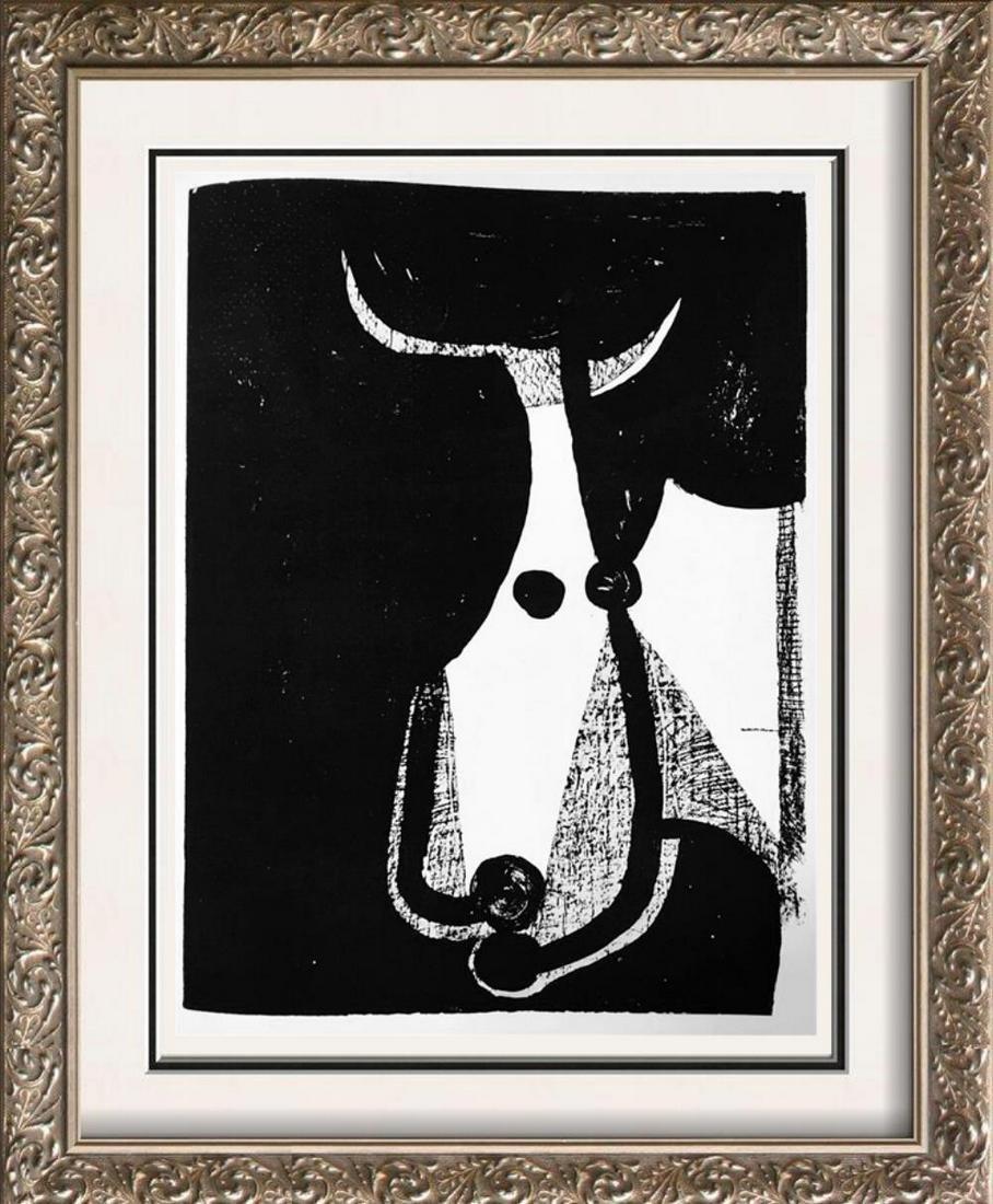 Pablo Picasso Bull's Head c. 1948 Fine Art Print from
