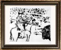 Pablo Picasso 'After'  Picador c. 1952 Fine Art Print