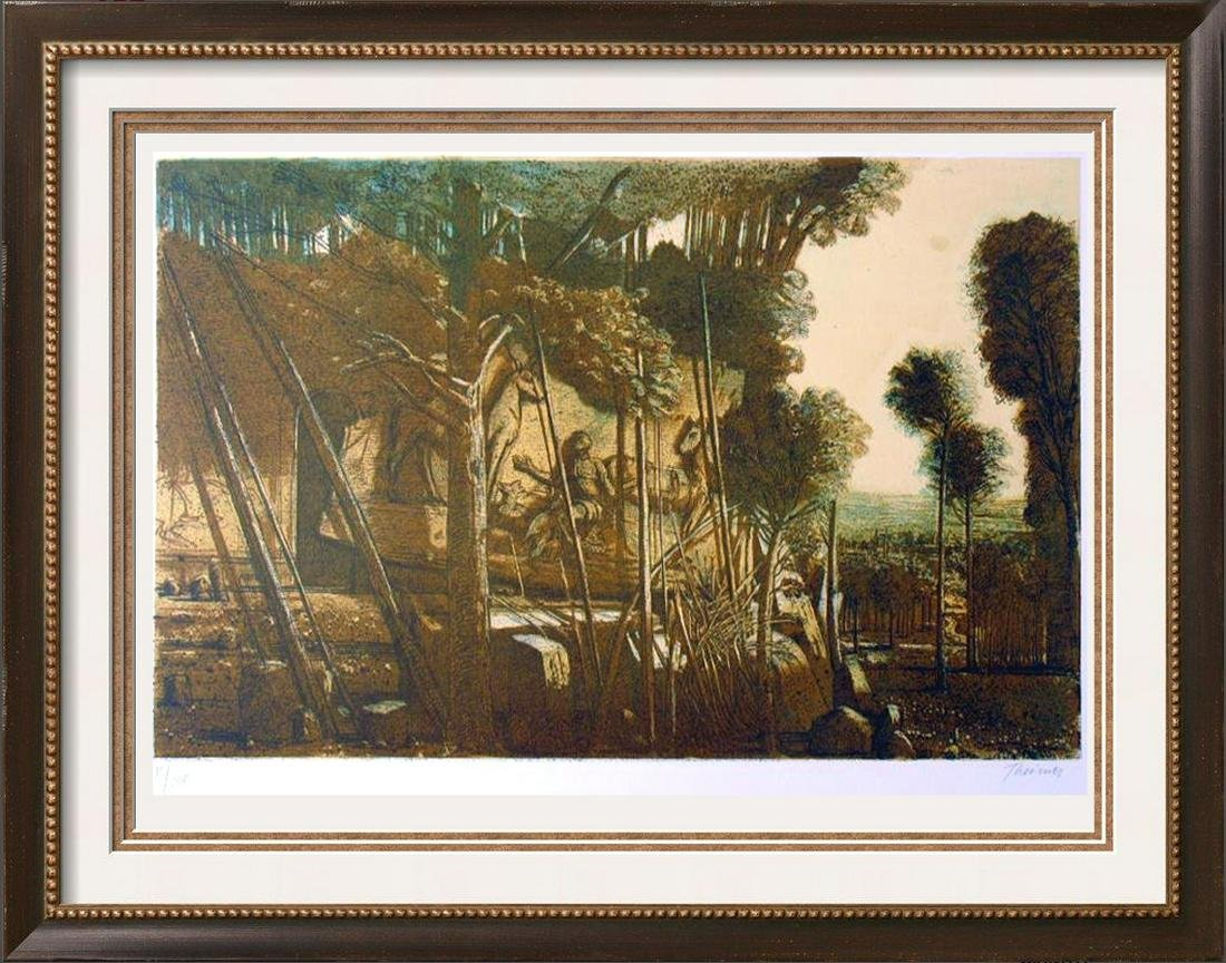 RARE THEIMER LTD ED LITHOGRAPH HAND SIGNED WHOLESALE