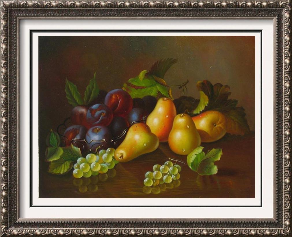 Original Still Life Signed Painting On Canvas Beautiful