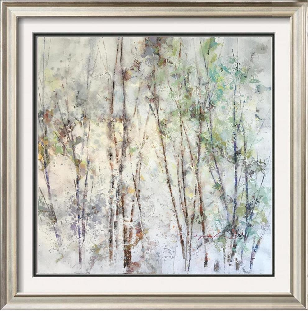 Abstract Contemporary Painting Trees