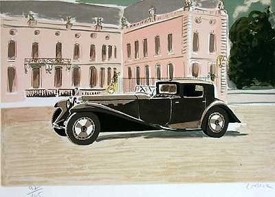 562A: Bugatti Art Deco Art Sale Only $25 Liquidation