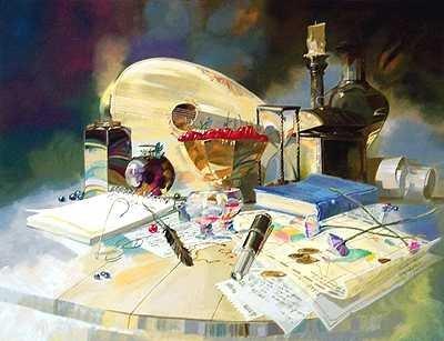 801A: Gorban Hand Signed Ltd Ed Liquidation Art Sale