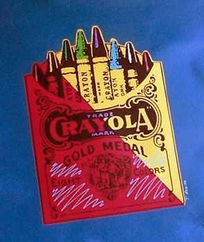 937A: POP Classic Crayon Colorful Canvas Original