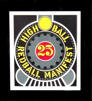 3682C: Robert Indiana Lithograph High Ball Huge Sale