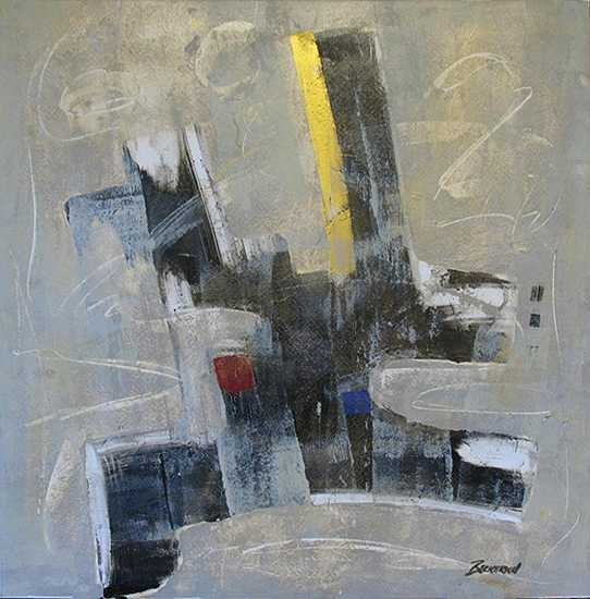 5089C: Abstract  Beckerich Painting on Canvas GR8 Value