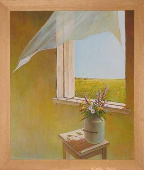 5484C: Yelagin ORIGINAL Painting RARE Framed Sale