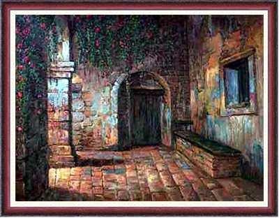 6904C: Huge Liquidation Framed ORIGINAL Painting