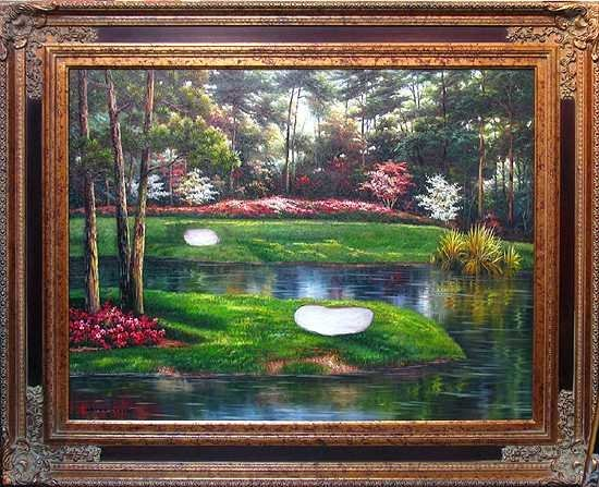 9022C: Desota Springs Golf Get Away in the Painting on