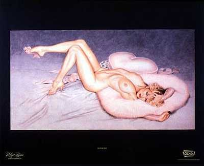 4011113D: Pin Up Olivia Nude Rare LAST ONE Huge Sale
