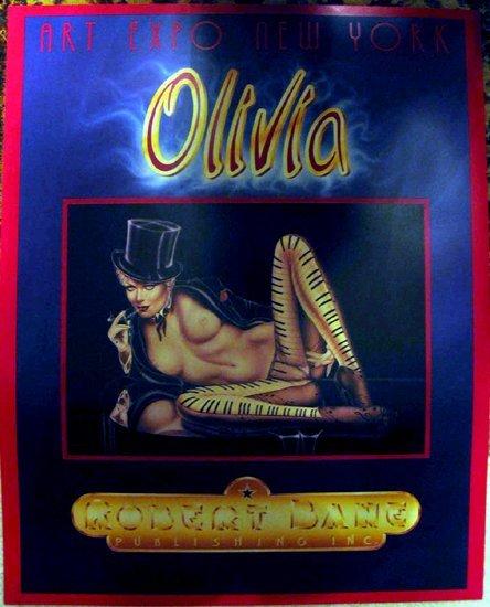 4011116D: Musical Olivia Piano Nude Rare Fine Art Print