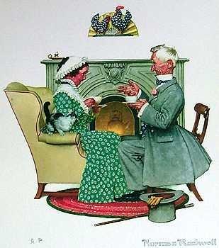 401118D: Vintage Rockwell Artist Proof Lithograph Sale
