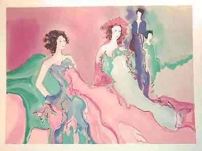 401259D: 38x51 HUGE Ltd Ed Maimon Style Ladies