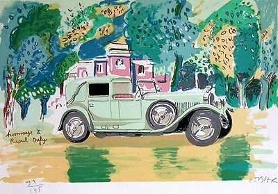 573E: Sale Only $25 Hand Signed Lithograph Sale