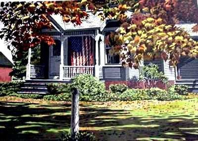740E: American Flag Realistic Limited Edition Colorful