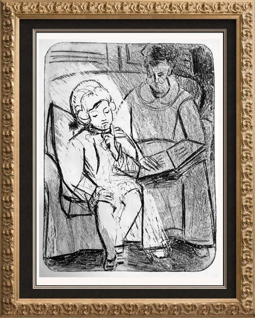 Pablo Picasso 'After'  Reading c. 1926 Fine Art Print