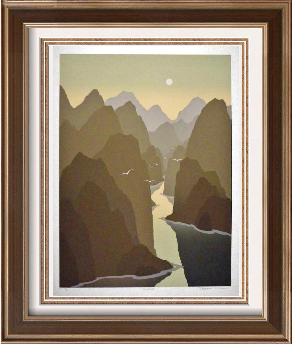 Southwestern Style Abstract Art Canyon Ltd Ed Sale