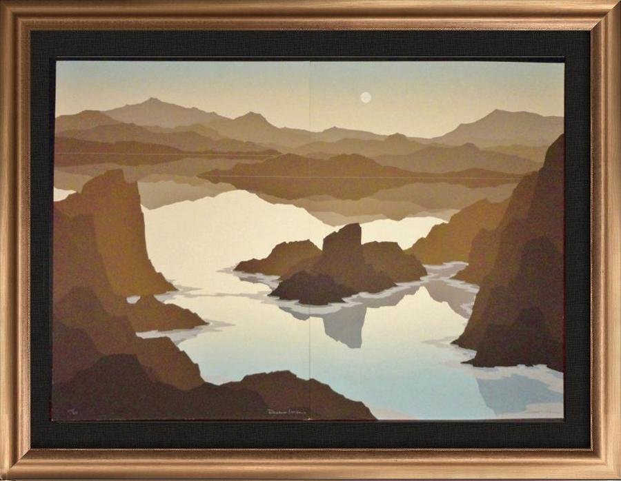 Canyon Landscape Abstract Erath Tone Limited Edition