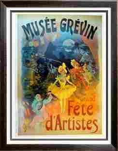 Cheret Large Antique Reproduction Poster Sale