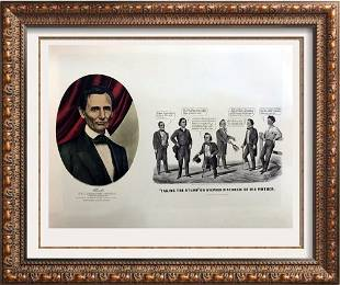 Roy King c1987 Honorable Abraham Lincoln Taking The