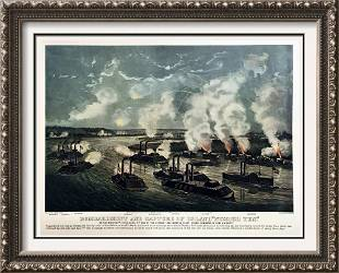 Roy King c1987 Bombardment And Capture Of Island