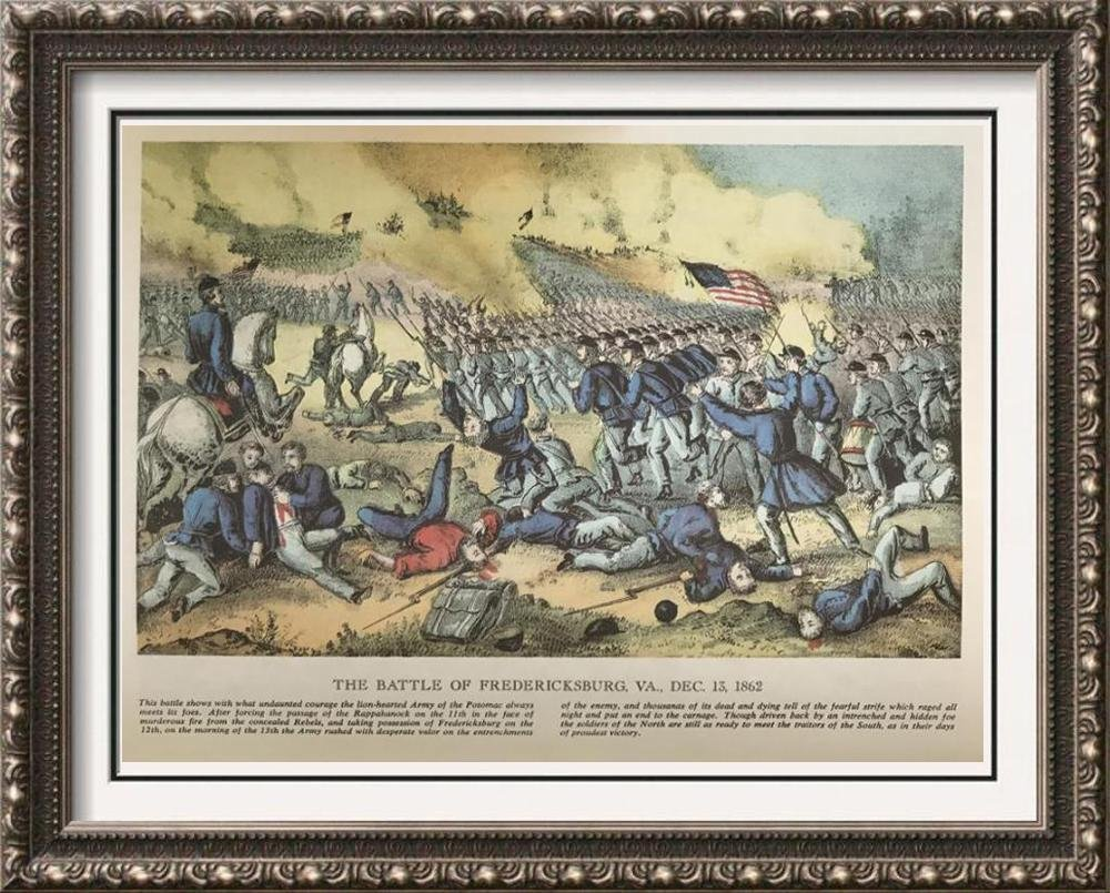 Civil War: The Battle Of Fredericksburg Virginia