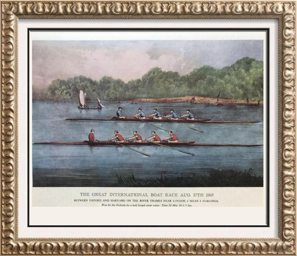Sports: The Great International Boat Race August 27,