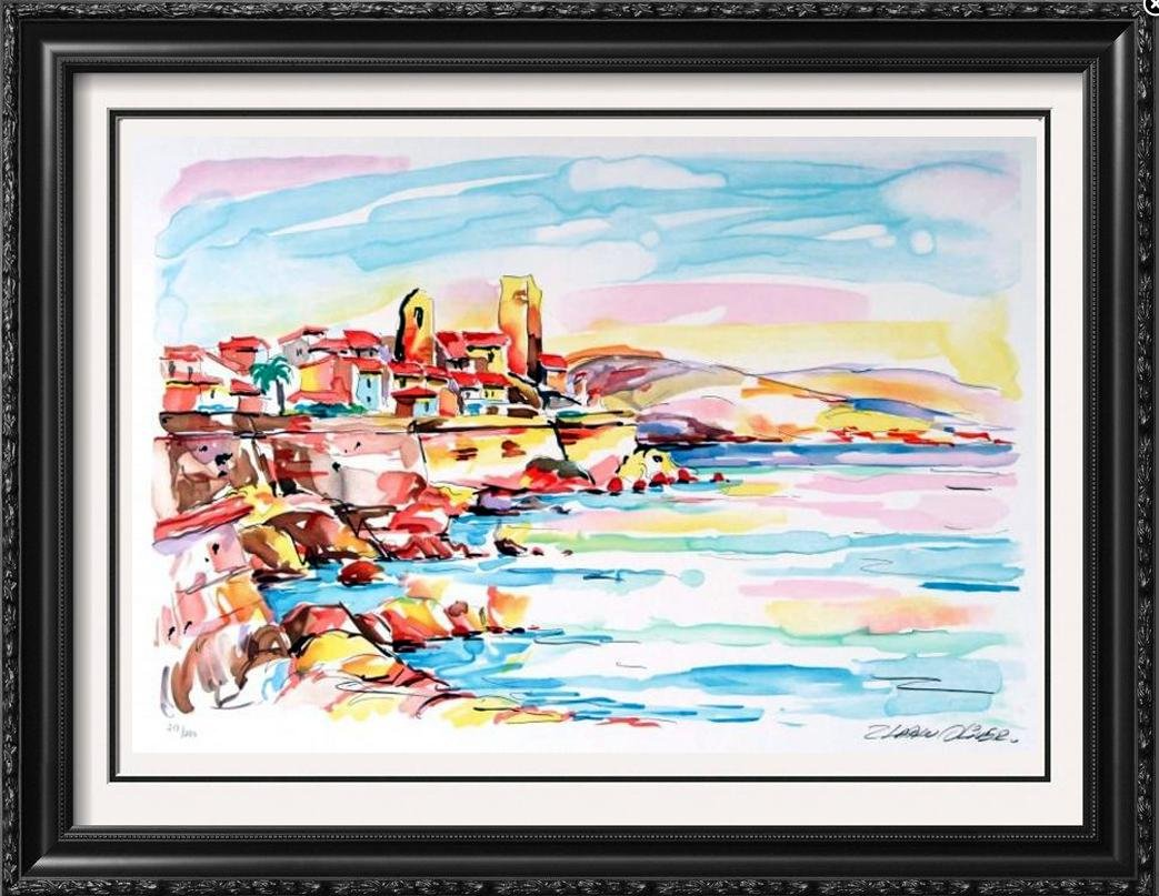 Colorful Ltd Ed Signed Oliver Liquidation Sale