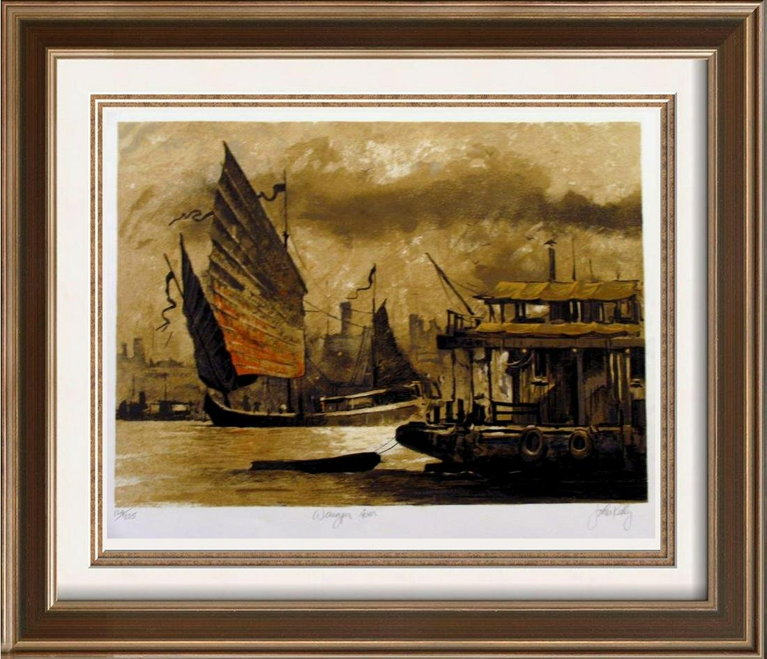 Wangpu River Wonderful Asian Steamboat Art