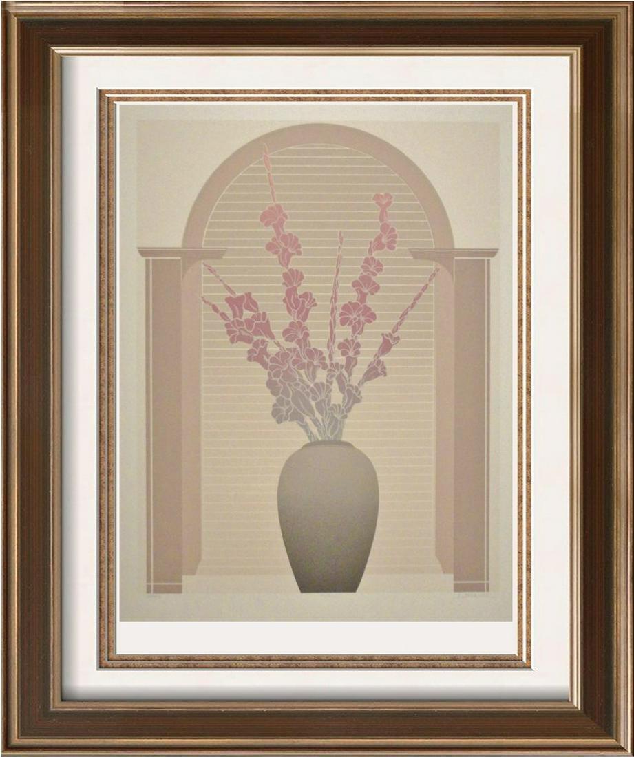 Floral Signed Limited Edition Dealer Liquidation