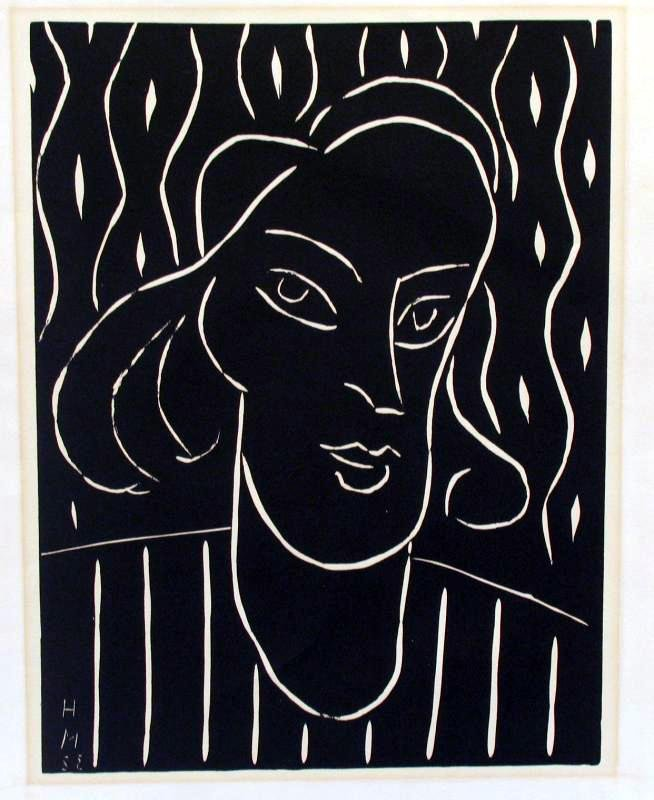 Henri Matisse Signed Abstract Figurative Museum Artist