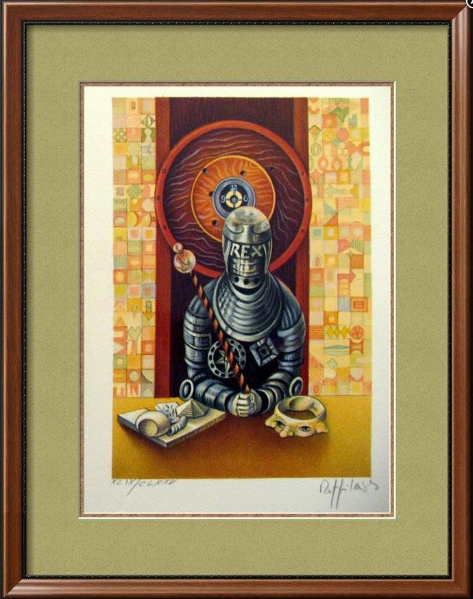 Chess King Art Signed Lithograph Limited Edition Only