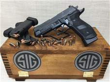 Sig Sauer Tacops .9mm with 4 20 rd Mags