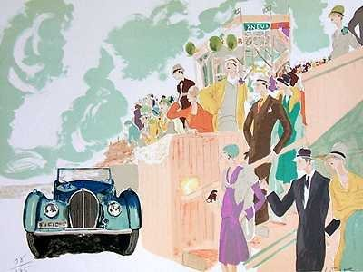 574B: Bugatti Art Deco Art Sale Only $25 Liquidation
