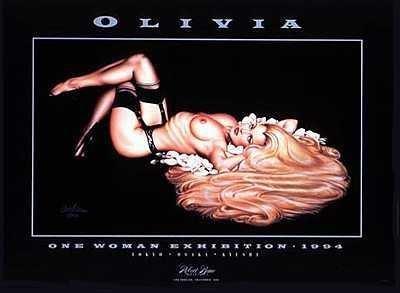 3011119: RAPUNZEL $40 RARE NUDE OLIVIA FINE ART PRINT S