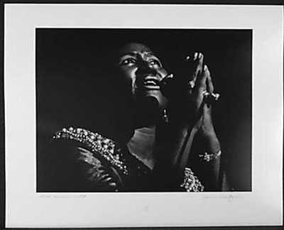 4051000: ARETHA FRANKLIN 1970 SIGNED ORIGINAL ROCK & RO