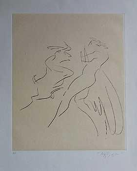 3683: MUSEUM ART RUEBEN NAKIAN LOVERS RARE ETCHING SALE