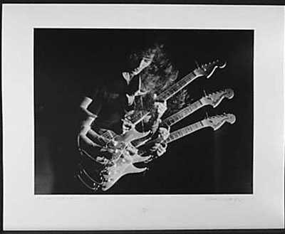 3050987: RITCHIE BLACKMORE 1970 RARE BLACK WHITE PHOTO