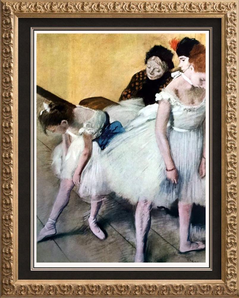 Edgar-Hilaire-Germain Degas The Dancing Class c.1880
