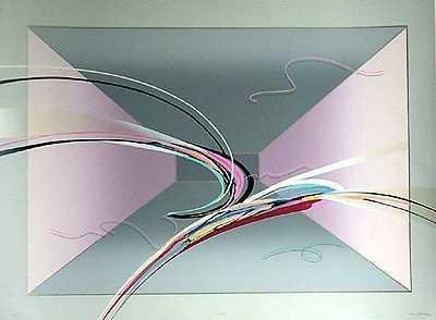 302334: DIMENSIONAL ABSTRACT BY ELBA ALVAREZ SIGNED LTD