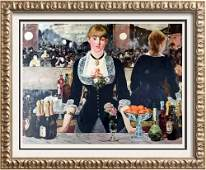 Edouard Manet A Bar at the Folies-Bergere c.1881 Fine