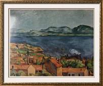 Paul Cezanne The Bay From L'Estaque c.1886 Fine Art