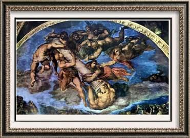 Michelangelo The Last Judgement c. 1536-41 Fine Art