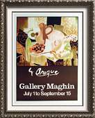 Georges Braque Lithograph Fine Art Print Rare Art