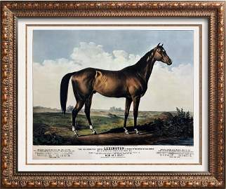 Roy King c.1987 The Celebrated Horse Lexington A Great