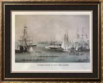 Steam Ships: Summer Scenes In New York Harbor